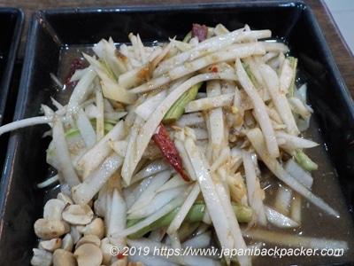 タケノコサラダ