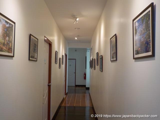 グリーナリー ホステル 廊下