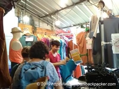 ウィークエンドマーケットoukyのTシャツ屋