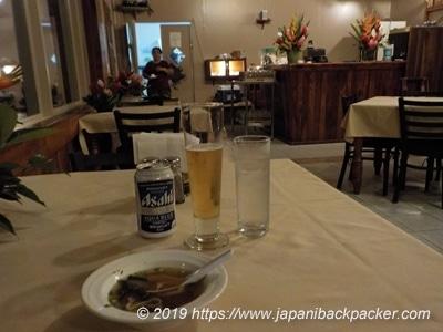 クリフ・ホテルのレストラン