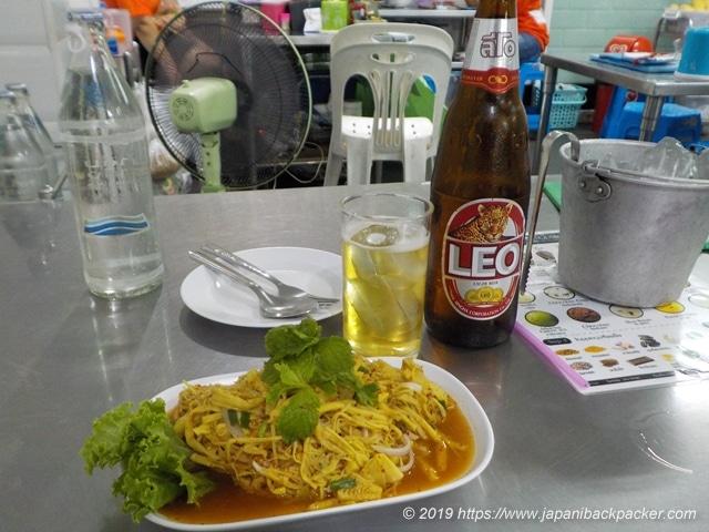 イサーン料理タケノコサラダ