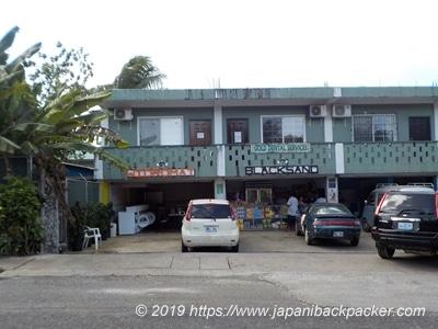 ポンペイ島の商店