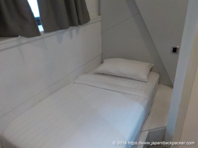 ホーミー ホテル セントラルのシングルルーム