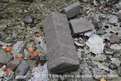 ナンマドール遺跡の石
