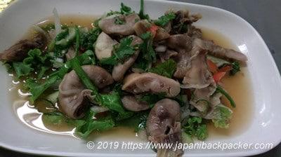 タイ料理モツ