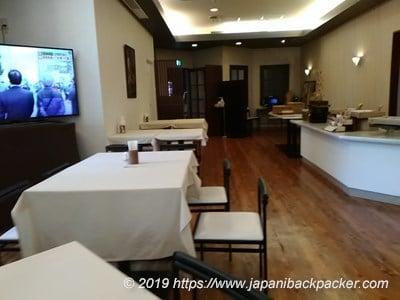 コートホテル新潟の食堂