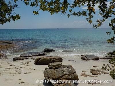 サメット島アオヌアンビーチ