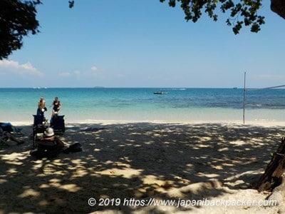 サメット島タプティムビーチ