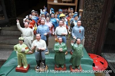 香港のアンティーク人形