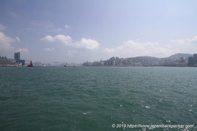 香港のビクトリア湾