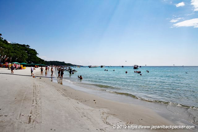 サメット島サイケオビーチ