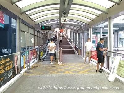 香港のヒルサイド・エスカレーター