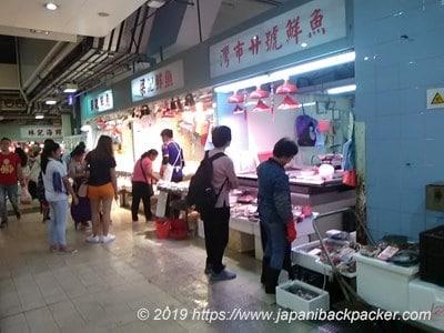 香港の魚市場