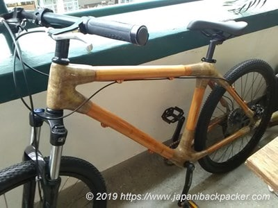 香港の竹自転車