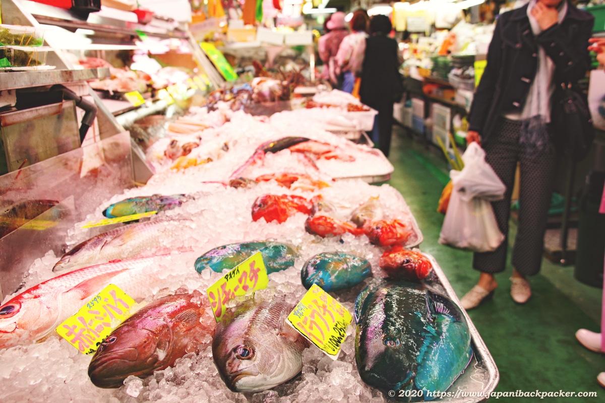 沖縄の第一牧志公設市場