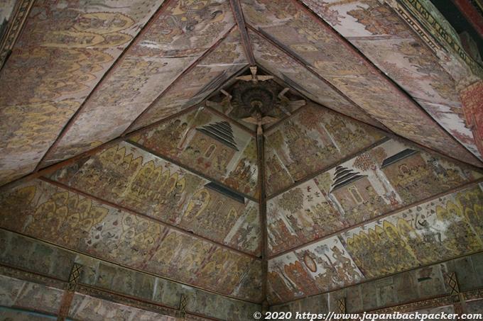 クルタゴサ(スマラプラ王宮跡)の天井画