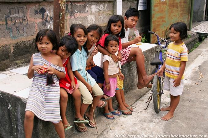 バリ島の子供たち