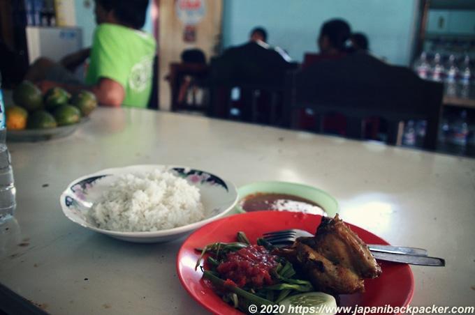 バリ島の食堂