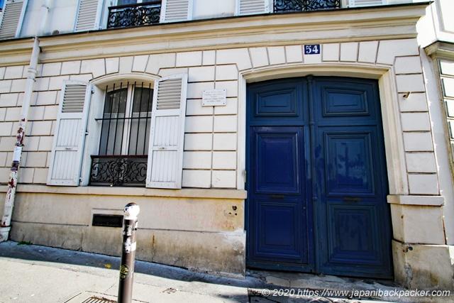 パリ モンマルトル ゴッホの家