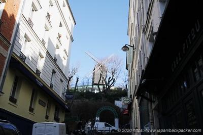 ムーラン・ド・ラ・ギャレットの風車