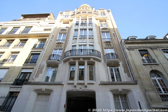 パリのギマール建築