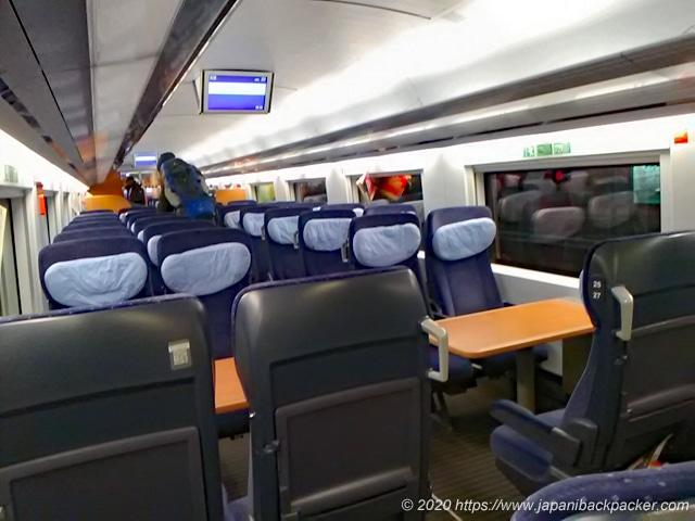 ドイツの列車