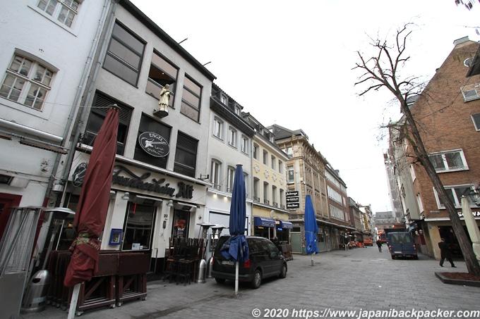 デュッセルドルフ旧市街
