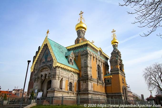 マチルダの丘 ロシア教会
