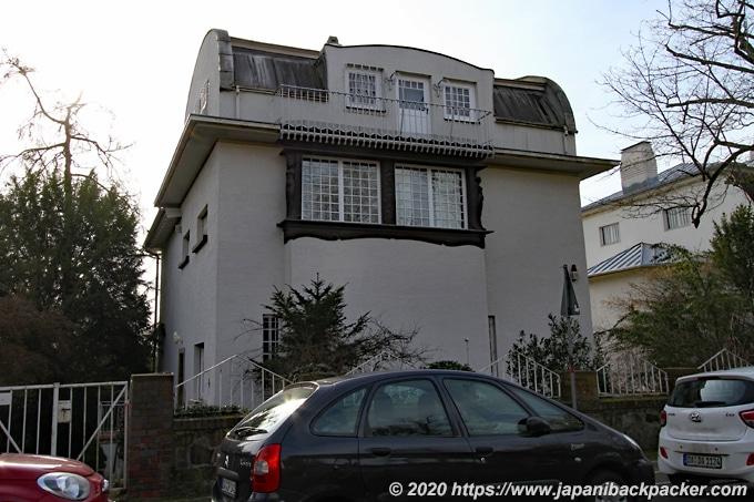 マチルダの丘 グリュッカート邸の小さな家