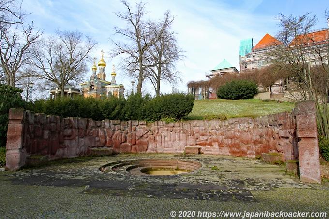 マチルダの丘 エルンスト・ルートヴィヒの噴水