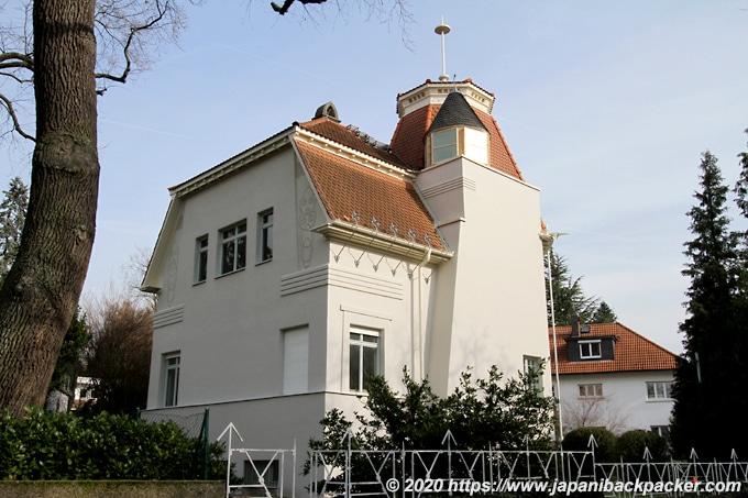 マチルダの丘 オルブリッヒ設計ダイタース邸