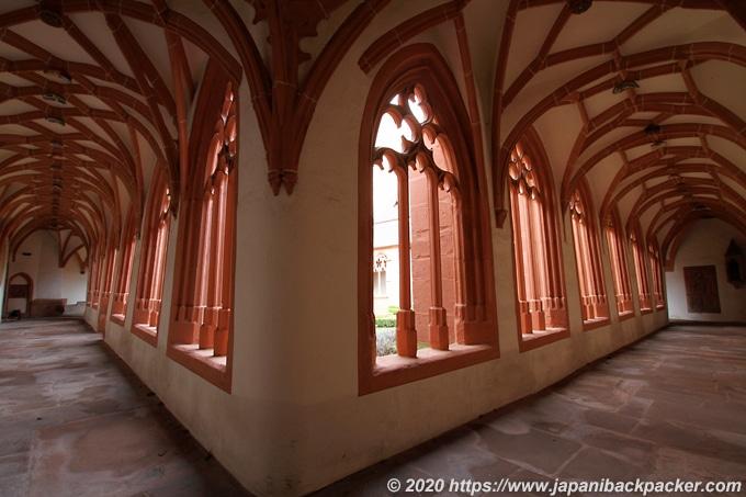 マインツの聖シュテファン教会 回廊
