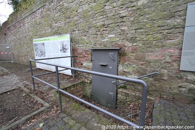 マインツ 城塞跡