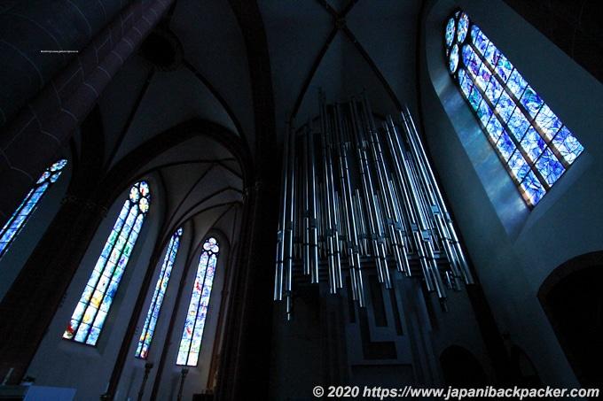 マインツの聖シュテファン教会 ステンドグラス