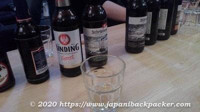 ファイブ エレメンツ ホステル フランクフルト ビール試飲会