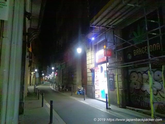 バルセロナ旧市街