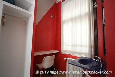 ゲストハウス バルセロナ ゴティック シングルルーム