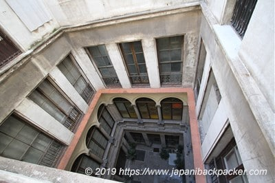 バルセロナ旧市街の建物