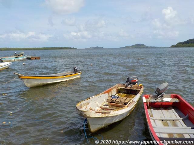 ミクロネシアのボート