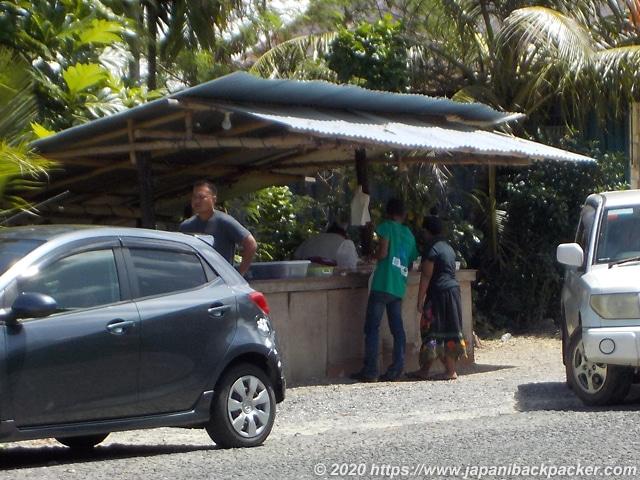 ミクロネシア コロニアの弁当屋