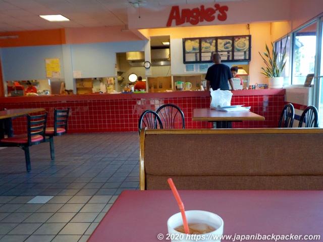 ポンペイ島コロニアのAngie's Fast Food
