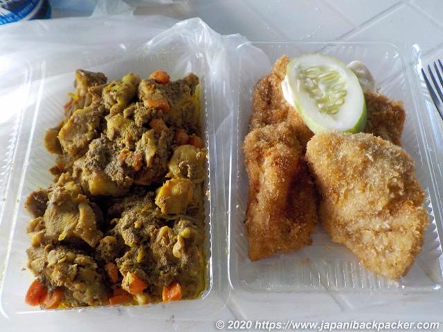 ミクロネシアの弁当