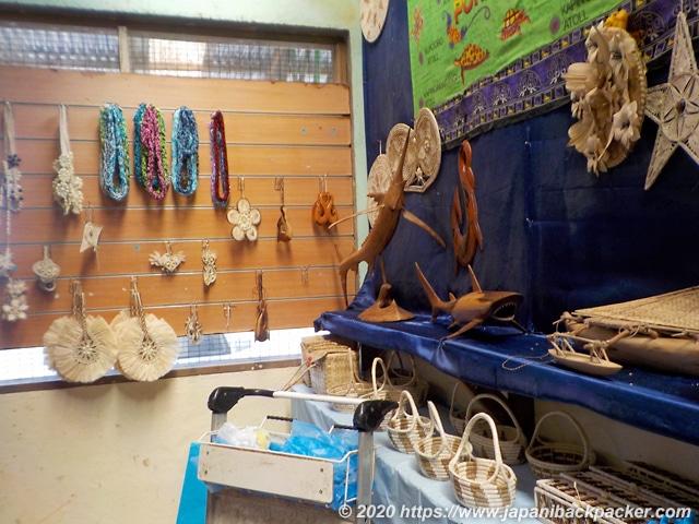 ミクロネシアの土産物