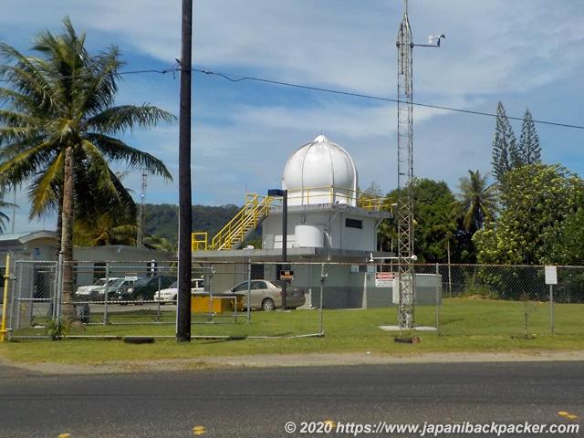 ポンペイ島の気象観測所