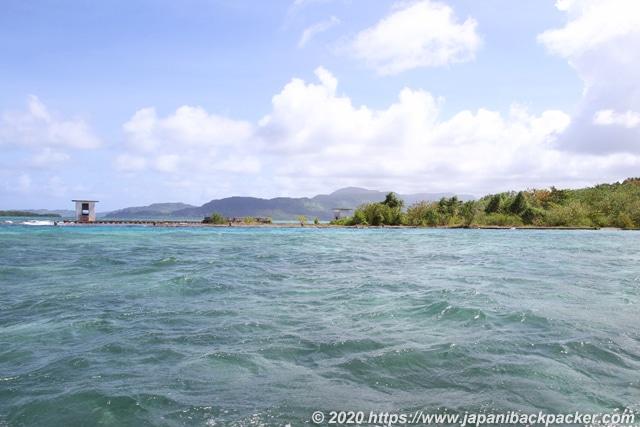 ランガル島の空港跡