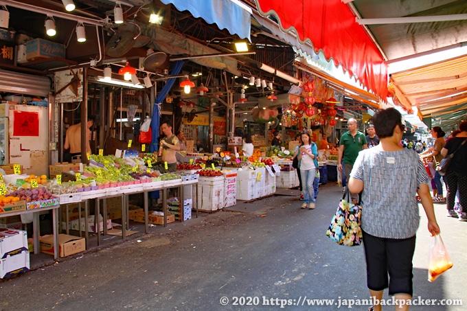 香港の果物市場