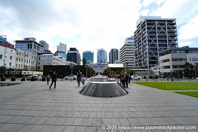 オークランド Takutai Square