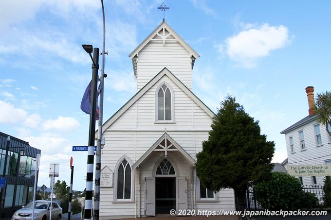 オークランド St John the Baptist Catholic Church