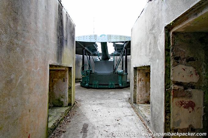 マウント・ビクトリアの要塞跡