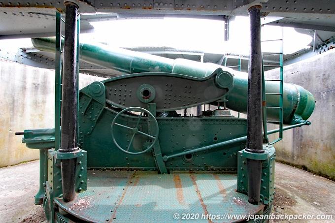 マウント・ビクトリアの大砲